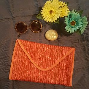 Handbags - Woven Clutch